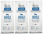 Brit Care Adult Large Breed Lamb & Rice 3 x 12kg