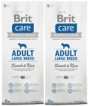 Brit Care Adult Large Breed Lamb & Rice 2 x 12kg