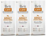 Brit Care Adult Medium Breed Lamb & Rice 3 x 12kg