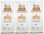 Brit Care Adult Medium Breed Lamb & Rice 3 x 12kg