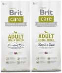 Brit Care Adult Small Breed Lamb & Rice 2 x 7,5kg