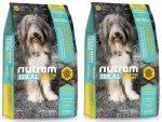 I20 Nutram Ideal Sensitive Dog 2 x 13,6kg -181,- BONUS