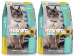 I19 Nutram Ideal Sensitive Cat 2 x 6,8kg