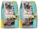 I19 Nutram Ideal Sensitive Cat 2 x 6,8kg