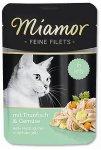 Kapsička Miamor Feine Filets tuňák + zelenina 100g