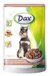 Dax pes kapsa hovězí + králík 100g