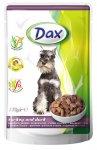 Dax pes kapsa krůtí + kachna 100g