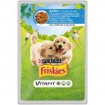 Friskies kapsička Junior kuřecí s mrkví v omáčce 100g pes