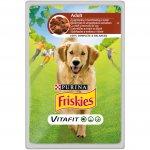 Friskies kapsička jehněčí s mrkví v omáčce 100g pes