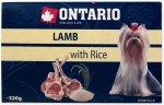 Ontario vanička Lamb with Rice 320g