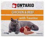 Ontario vanička Chicken, Beef with Taurine 115g