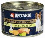 Ontario konz. Mini Calf, Sweetpotato 200g