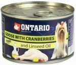 Ontario konz. Mini Goose, Cranberries 200g