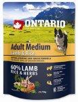 Ontario Adult Medium Lamb & Rice 0,75kg