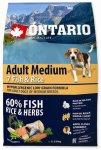 Ontario Adult Medium Fish & Rice 2,25kg