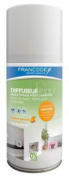 Francodex Difuzér repelentní indoor Citrus 150ml