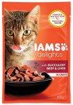 IAMS cat delights beef & liver in gravy 85g