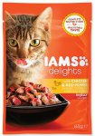 IAMS cat delights chicken & red pepper in jelly 85g
