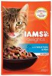 IAMS cat delights tuna & peas in gravy 85g