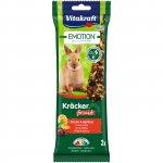 Vitakraft Emotion kracker králík ovocný 2ks 112g