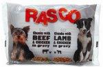 Kapsička Rasco Dog s kuřecím a jehněčím masem 4x100g