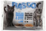 Kapsička Rasco Cat s lososem+hovězí 4x100g