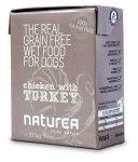 Naturea Grain Free dog vlhké - Chicken, Turkey 375g