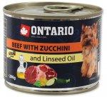 Ontario konz. Mini Beef, Zucchini 200g