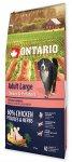 Ontario Adult Large Chicken & Potatoes 12kg + 2,25kg