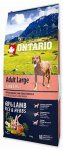 Ontario Adult Large Lamb & Rice 12kg + 2,25kg