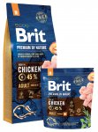 Brit Premium Dog Nature Adult M 3 x 15kg