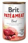 Brit Dog konzerva Paté & Meat Beef 400g