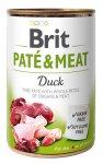 Brit Dog konzerva Paté & Meat Duck 400g