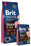Brit Premium Dog Nature Junior L 3 x 15kg