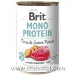 Brit Dog konzerva Mono Protein Tuna & Sweet Potato 400g