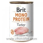 Brit Dog konzerva Mono Protein Turkey 400g
