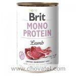 Brit Dog konzerva Mono Protein Lamb 400g