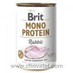 Brit Dog konzerva Mono Protein Rabbit 400g