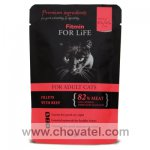 Fitmin For Life Cat Pouch adult Beef 85g