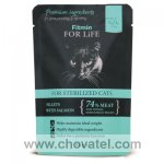 Fitmin For Life Cat Pouch Sterilized Salmon 85g